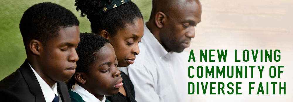 A new loving community of diverse faith