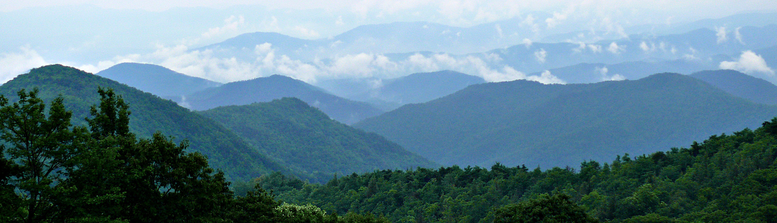 Blue Ridge Mountains @ SUUSI