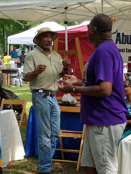 Abundant Love UU at the Malcolm X Festival with Rev. Duncan Teague