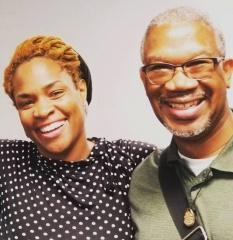 Dr. Ashley Coleman Taylor and Rev. Duncan Teague