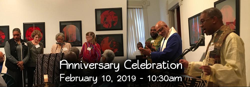 Anniversary Celebration - February 10, 2019