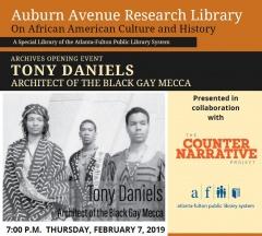 ADODI Muse - Malik Williams, Duncan Teague, Tony Daniels - Archive Opening February 7, 2019