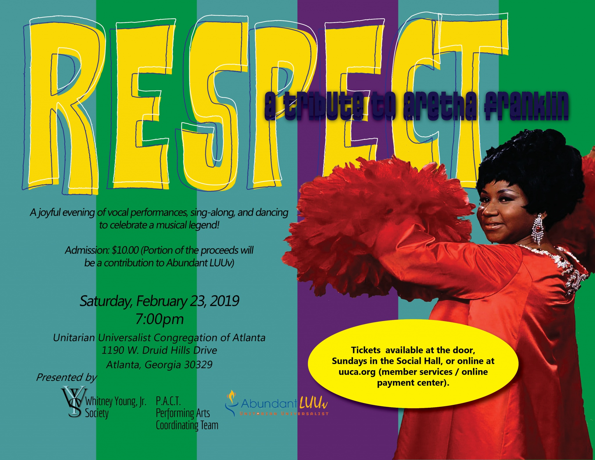 Respect: A Tribute to Aretha Franklin