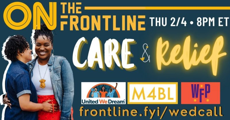 On the Frontline: Care and Relief