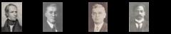 Joseph Tuckerman, John Haynes Holmes and Clarence Skinner