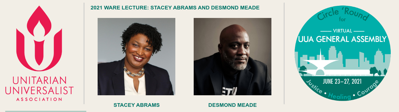 2021 Ware Lecture: Stacey Abrams and Desmond Meade